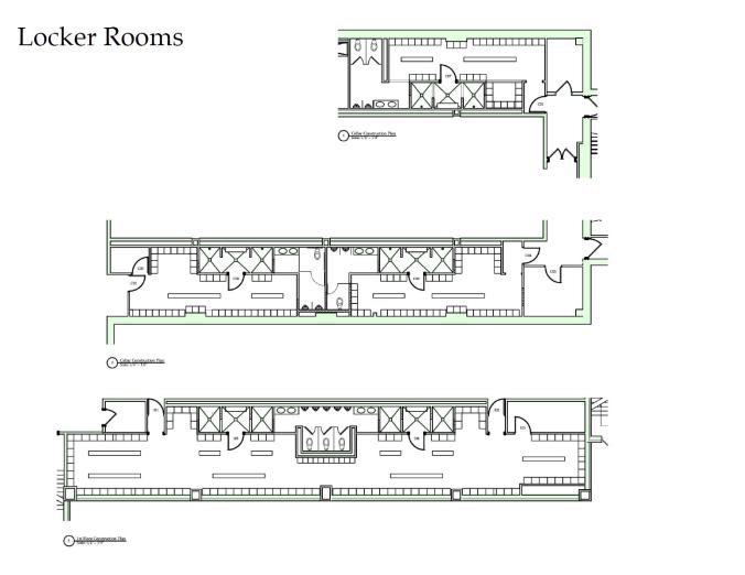 Proposed Locker Rooms
